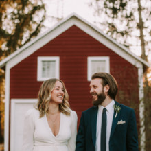 220x220 sq 1487357852086 janelle kevin upstate hudson valley farm wedding j