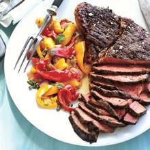 220x220 sq 1382115060187 sirloin steak w peperonata