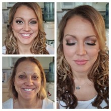 220x220 sq 1418504011120 toni brides wedding makeup and hair121215trial