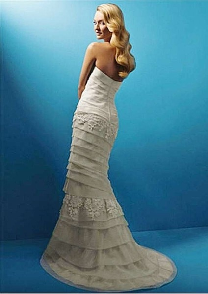 1383080260811 Alfred Angelo 1357 Style 2099 Wedding Dress Back  Parkville wedding dress