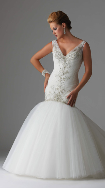 1386368375262 Mermain Jewel Encrusted Gow Parkville wedding dress