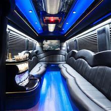 220x220 sq 1454779871 c59af9b0e5c050fa 1436637270711 sprinter limo interior 2