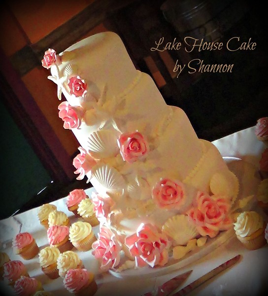 Lake House Cake By Shannon Panama City Beach Fl Wedding