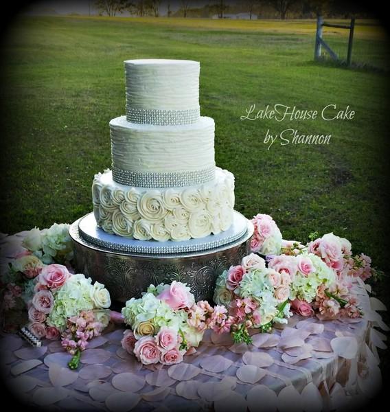 Lake House Cake By Shannon Panama City Beach Fl Wedding