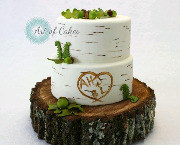 Art of Cakes - Maryville, TN Wedding Cake