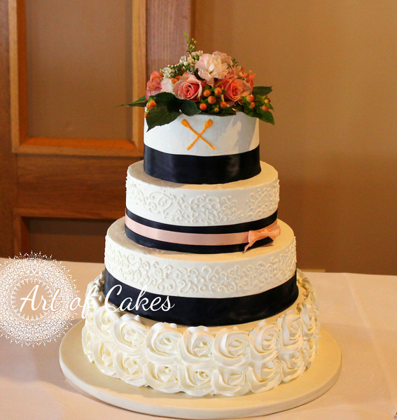 Art of Cakes - Maryville, TN Wedding Cake