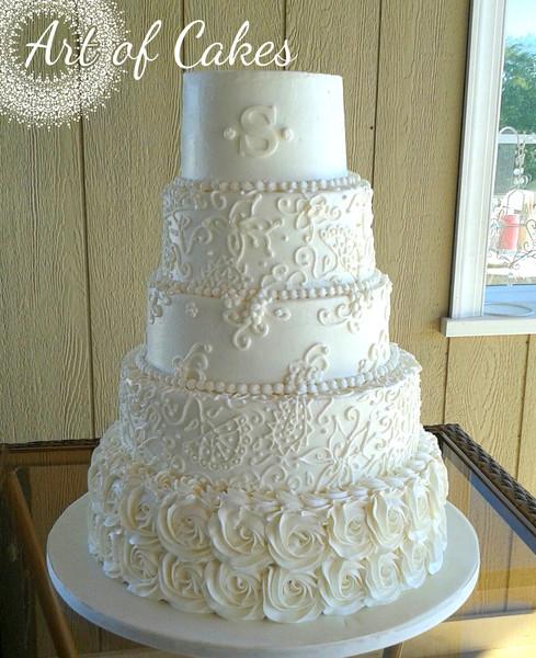 Art Of Cake Maryville Tn : Art of Cakes - Maryville, TN Wedding Cake