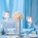 Lighting: Event Dynamics  Floral Designer: Intrigue - Flowers & Lighting  Venue: Loews Annapolis Hotel