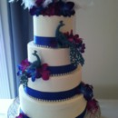 130x130 sq 1397581773582 peacock wedding cak