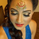 130x130 sq 1449202316874 indianweddingmakeup