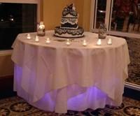 1367956628317 Chyc Blue Cake Table Cape Coral wedding dj