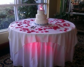 1367956641451 Cake Table Red Cape Coral wedding dj