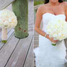 220x220 sq 1374849820924 white peonies bridal bouquet stay forever photography