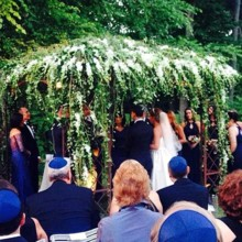 220x220 sq 1479234265545 picture of chuppah of josh and sari