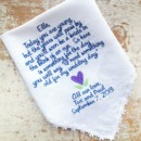 130x130 sq 1386098066008 handkerchief flowergirl navy and purpl