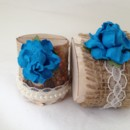 For people who love blue - this is for you. So vibrant! This is a statement for your table. This listing is for a set of 10 natural birch wood place card holders for $35.00 Each birch wood holder is embellished with burlap and lace or pearls and lace ribbons. They are a beautiful compliment to the decorations on your tables. They are 2 inches tall, and approximately 2 - 2 1/2 inches wide. The flowers are 1 1/2 inch wide. Each holder has a 3/8 inch slot on the top which holds the place card nicely. Each piece is hand crafted so no two are alike! Use these at weddings, baby showers, and really any party event that you want some additional sparkle to your table. Mixing and matching styles is a beautiful table design statement. if you don't see what you are looking for, just send us a message and we are happy to create that special look for you. Keep it rustic chic! Tutti Rose Designs Be sure to visit www.etsy.com/shop/tuttirosedesigns to see our entire collection.