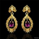 14K Yellow Vintage Style Amethyst Earrings http://www.orospot.com/product/e252ma/14k-yellow-vintage-style-amethyst-earrings.aspx SKU: E252MA $749.00 14K yellow gold, Vintage style amethyst (approx. 1.30 cttw both) earrings are 33 mm long (1.3 inch) and 14 mm wide (0.5 inch)