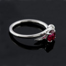 14k White Gold Pink Tourmaline Nail Shaped Shank Modern Engagement Ring http://www.orospot.com/product/r1061ven/14k-white-gold-pink-tourmaline-nail-shaped-shank-modern-engagement-ring.aspx SKU: R1061VEN $469.00 Design engagement ring with nail shaped shank is made of 14k white gold. Contains round, prong set pink tourmaline .83cttw. Ring's shank is 2mm wide, 1,6mm tall, center stone is set above the finger approx. 6mm. This gorgeous rings is available in all finger sizes, please contact us for your size preference. Please allow 2 weeks to complete the order.