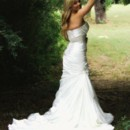 bridal photos at the Azle Deer Cove
