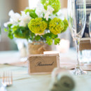 Venue/Caterer: Creek Club at I'On  Floral Designer: Branch Design Studio  Rentals: Event Works
