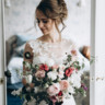 96x96 sq 1513627210832 bride with oversized bouquet