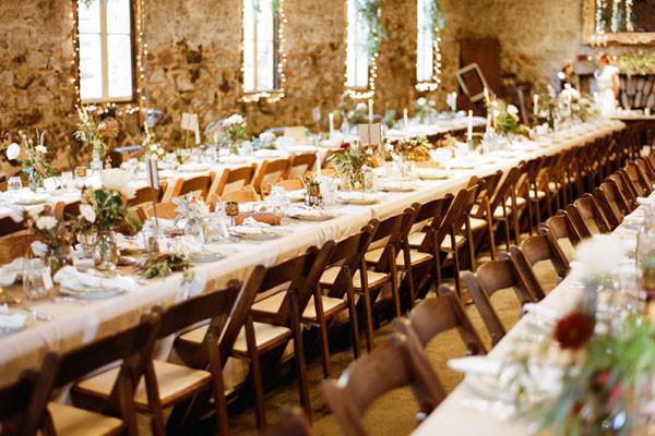 Family Style Dining Wedding Reception Choice Image - Wedding ...