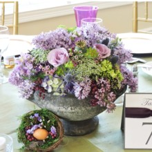220x220 sq 1431307476905 purple centerpiece