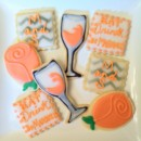Custom cutout cookies make great favors! They also stand out on a dessert buffet and make a fantastic addition for those guests who don't enjoy cake.