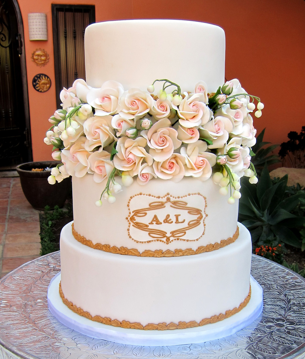 los angeles wedding cakes delicious arts wedding cake los angeles ca weddingwire 16941