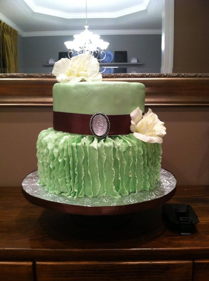 Designer Cakes Of The Tricities Wedding Cake Johnson