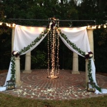 220x220 sq 1420238484884 ceremony drapery