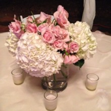 220x220 sq 1426988627458 pink centerpiece