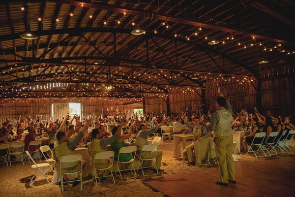 1404751295125 Rustic Barn Toast Raleigh Wedding Venue