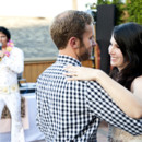 Chickens and Elvis, a great Portland wedding