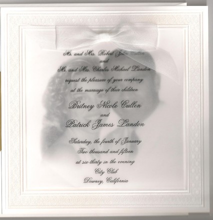 Los angeles wedding invitations reviews for 191 invitations invitations 4 all occasions stopboris Image collections