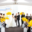 Venue: Malaparte  Floral Designer: Cool, Green & Shady  Event Coordinator - Double Happiness Events  Dress Designer: Enzoani  Dress Store: Becker's Bridal  Officiant: Gordon Kushner  Video: Oi Studio