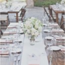 <p> Venue: Hummingbird Nest Ranch</p>  <p> Event Planner: Joyce Kim Weddings</p>  <p> Dress Designer: Allure Bridals from Beautiful Day Bridal Salon</p>  <p> Shoes: Jimmy Choo</p>  <p> Bridesmaid Dresses: Wedding Time</p>  <p> Hair Stylist: Touch of Beauty </p>  <p> Makeup Artist: Leslie Chan</p>  <p> Groom and Groomsmen Attire: Friar Tux</p>  <p> Ceremony and Reception Music: Elegant Entertainment </p>  <p> Invitations: Leslie Kim</p>  <p> Floral Designer: Butterfly Floral</p>  <p> Rentals: A Rental Connection</p>  <p> Cake: Skiff&#39;s Cakes</p>  <p> Caterer: Command Performance</p>  <p> Video: Avec Lumiere Productions</p>