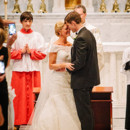 <p> Ceremony Venue: St. Mary&#39;s Catholic Church</p>  <p> Ceremony Dress Designer: Martina Liana from Hannelore&#39;s Bridal Boutique</p>  <p> Officiant: Father Kleinman</p>