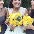 <p> Venue/Caterer: Stone Bridge Farms</p>  <p> Floral Designer: Ava Grace Designs </p>  <p> Dress Designer: Galina from David&#39;s Bridal</p>  <p> Groom and Groomsmen Attire: Vera Wang from Men&#39;s Wearhouse</p>  <p> Hair Stylist: Brides and Belles Hair Design</p>  <p> Makeup Artist: Made Ya&#39; Blush</p>  <p> Cake/Cupcakes: Gigi&#39;s Cupcakes</p>  <p> Crocheted Goods: Fiction Stitches </p>