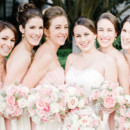 Dress Designer: Jin Wang  Bridesmaid Dresses: Dessy Group from Bella Bridesmaid