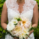 Venue:Brooklyn Winery  Dress Designer:Theia CouturefromLovely Bride  Hair and Makeup Artist:Jackie Schneider Beauty  Floral Designer: Miss Fancy Plants