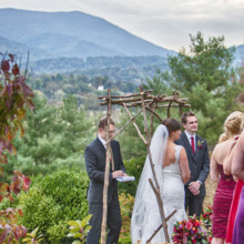 <strong class='info-row'>Andrew Morrell Photography</strong> <div class='info-row description'><html>  <head></head>  <body>    Officiant: Rand Waldron  Venue: The Inn at Mount Vernon Farm    <div>     <div>  Ceremony Musicians: Jackass Flats     </div>    </div>    <div>        </div>   </body> </html></div>