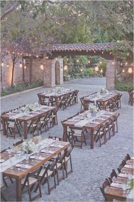 Peach California Ranch Wedding Wedding Real Weddings