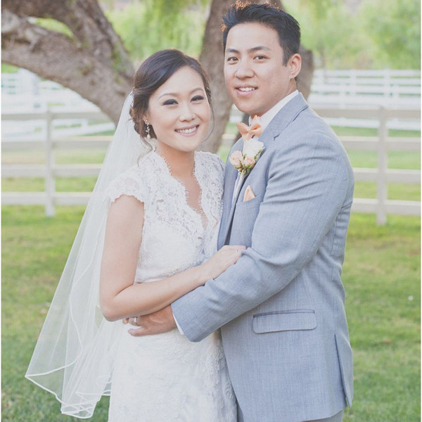 Peach California Ranch Wedding Wedding Real Weddings