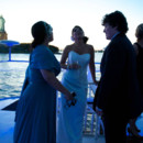 aqua azul yacht amp manhattan steamboat wedding ceremony