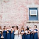 Photo: Off BEET Productions  Bridal Gown: Rosa Clara Bridal atNordstrom Bridal Suite  Bridesmaids Dresses: J2 by Jasmine atBijou Bridal  Flowers:Spitz and Peck