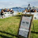 Ceremony Venue: Bond Street Pier   Reception Venue/Caterer/Rentals: Admiral Fell Inn  Event Planner: Kristina Yepes