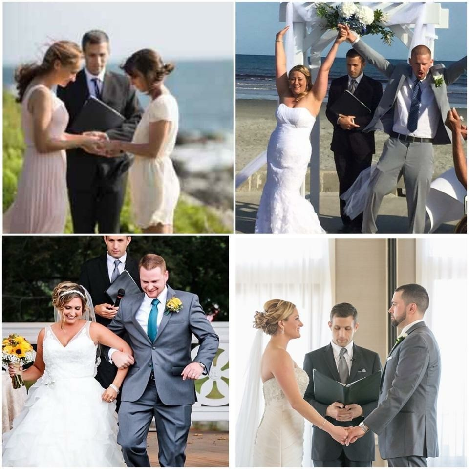 an amazing day wedding officiant officiant newport ri