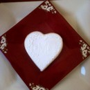 Monogrammed Heart Cookie - available in a variety of colors. Great gift, favor, or place card marker. Many other options available.