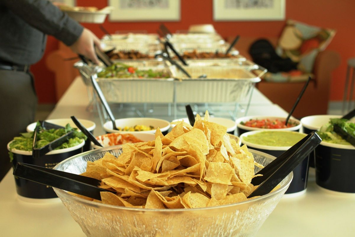 Qdoba Catering Twin Cities Group Catering Chaska Mn